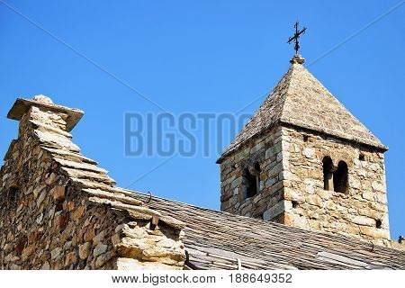 Chapel Of Three Saints At Sion Valais Switzerland
