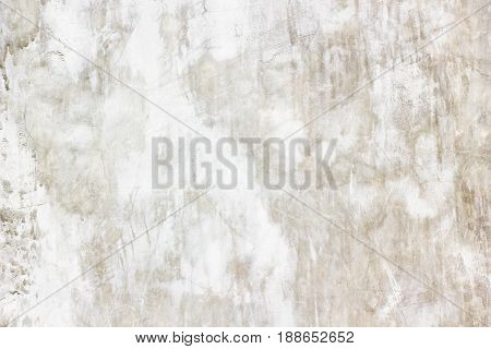 white grunge concrete wall texture background .