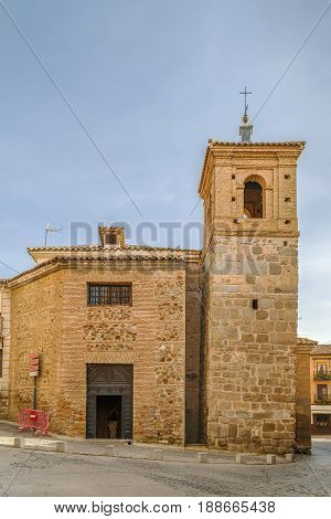 The Mezquita-Iglesia de El Salvador is a church in Toledo Spain