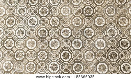 the ceramic tile pattern from chines style