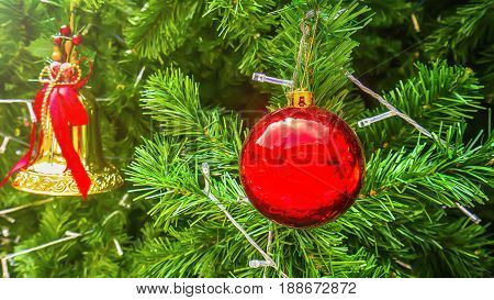 the christmas tree backgrounds and decorative element