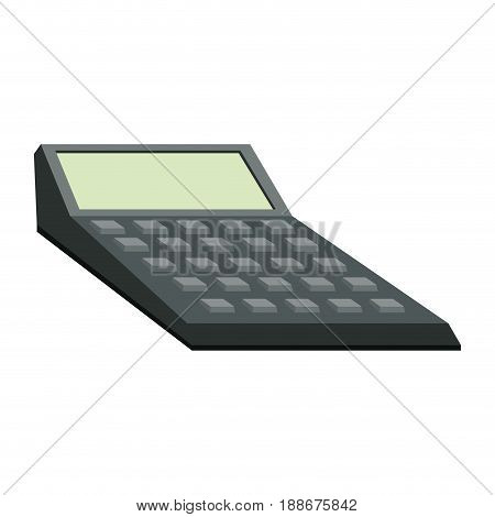 calculator financial accounting business icon calculator financial accounting business icon vector illustration