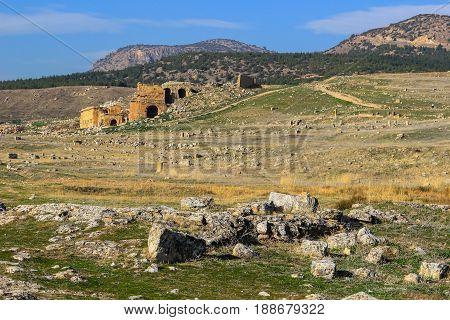 Ruins  In Aphrodisias Turkey