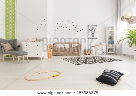 Simple Multifunctional Baby Room Design
