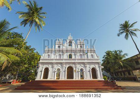 Church Of Our Lady Of Mount Carmel, Arambol, Goa
