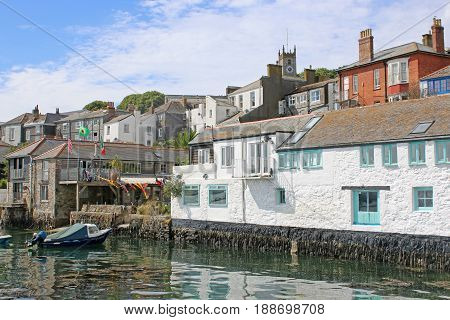 Town of Falmouth by the River Fal, Cornwall