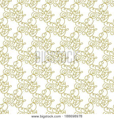 Holiday gift seamless pattern with hand lettering Sorry. Vector illustration for your design