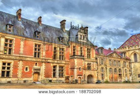 Street in the old town of Sens - France, Yonne