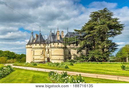 Chateau de Chaumont-sur-Loire, a castle in the Loire Valley of France, Loir-et-Cher department