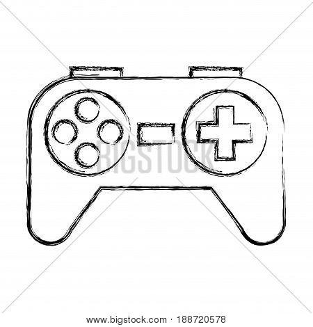 sketch draw Control game cartoon vector graphic design