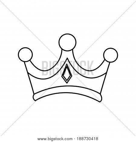 christmas crown of wise king manger vector illustration
