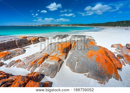 Dolphin Bay on the Yorke Peninsula, South Australia