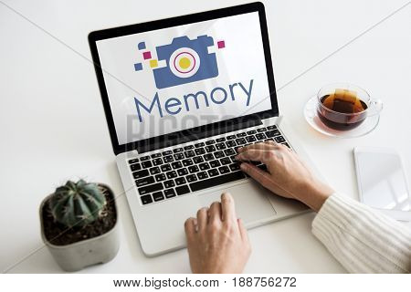 Camera is a device for capture a memory.