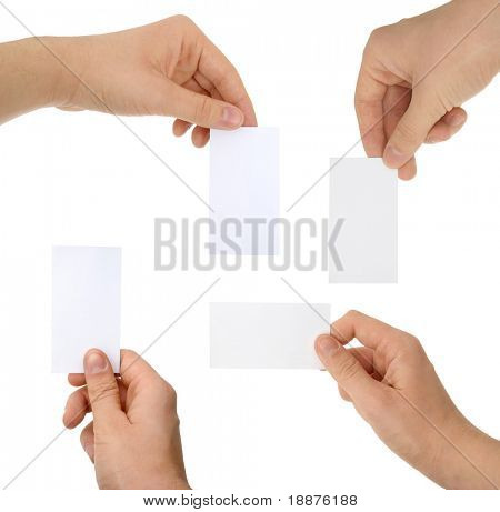 a photo of hands with cards