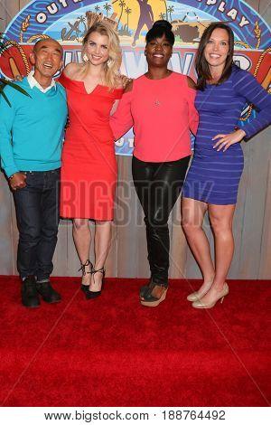 LOS ANGELES - MAY 24:  Tai Trang, Andrea Boehlke, Cirie Fields, Sarah Lacina at the