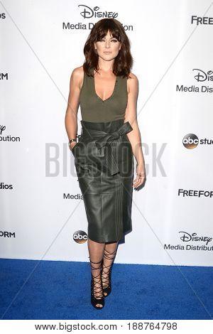 LOS ANGELES - MAY 21:  Serinda Swan at the 2017 ABC/Disney Media Distribution International Upfront at the Walt Disney Studios on May 21, 2017 in Burbank, CA