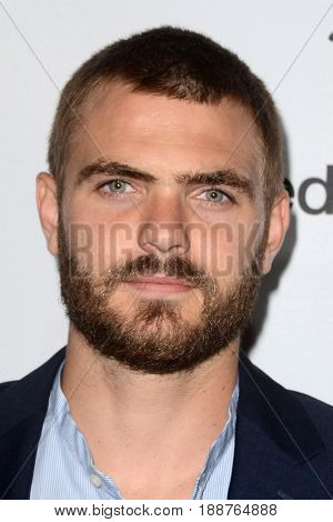 LOS ANGELES - MAY 21:  Alex Roe at the 2017 ABC/Disney Media Distribution International Upfront at the Walt Disney Studios on May 21, 2017 in Burbank, CA