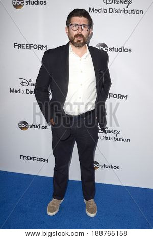 LOS ANGELES - MAY 21:  Rick Gomez at the 2017 ABC/Disney Media Distribution International Upfront at the Walt Disney Studios on May 21, 2017 in Burbank, CA