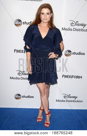 LOS ANGELES - MAY 21:  JoAnna Garcia at the 2017 ABC/Disney Media Distribution International Upfront at the Walt Disney Studios on May 21, 2017 in Burbank, CA