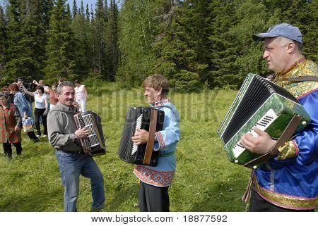 rural festival in Komi Republic, Russia