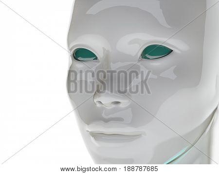 artificial mind, 3d illustration