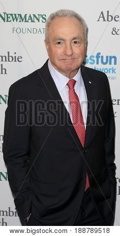 NEW YORK-MAY 23: Lorne Michaels attends the 2017 SeriousFun Children's Network Gala at Chelsea Piers, Pier 60 on May 23, 2017 in New York City.