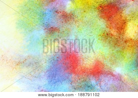 Mixed colors - abstract watercolor texture