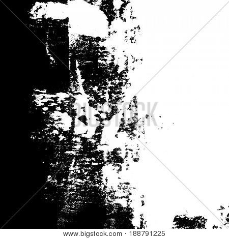 Contrast grunge abstract background. Copyspace composition