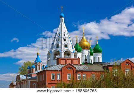 Churches in Kolomna Kremlin - Russia - Moscow region