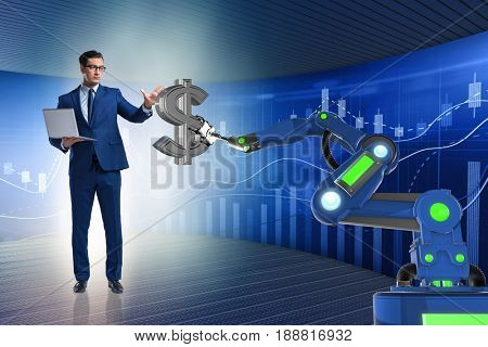 Currency trader using modern technologies
