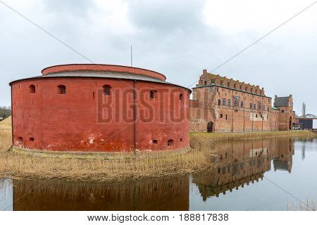 Malmo Castle in Southern Sweden