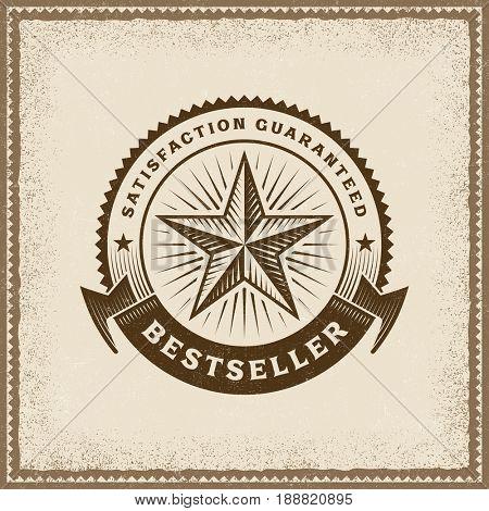 Vintage Bestseller Label