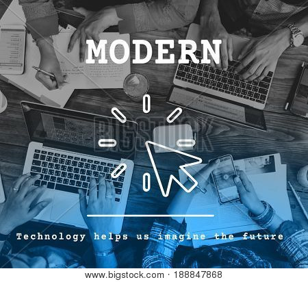 Modern Technology Trending Innovation Concept