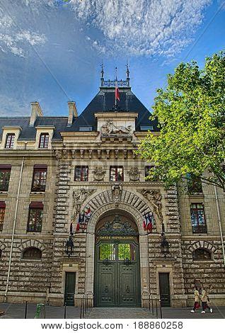 Garde de Republic at Paris France in summer