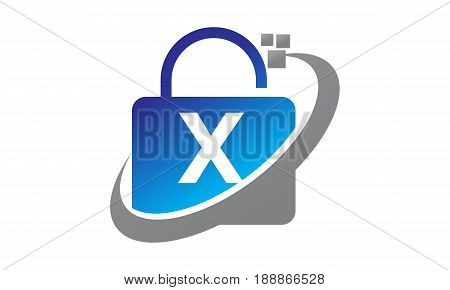 This image describe about Data Technology protection Initial X