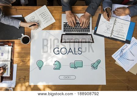 Business Goals Entrepreneur Success Rookie