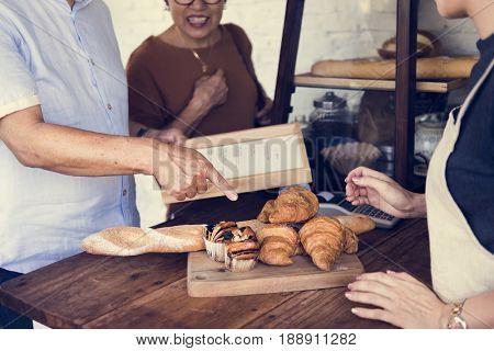 Baker Cafe Dough Flour Pastry Bread Knead