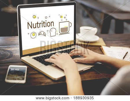 Balance Diet Healthy Nutrition Concept