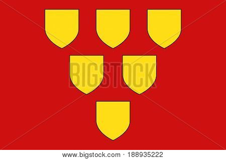 Flag of Mayenne is a commune in the Mayenne department in north-western France.