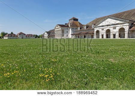 Salines Royales (royal Saltworks) At Arc-et-senans, France. Unesco Added The