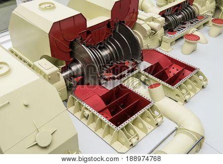 Model Of A 1000 Mw Steam Turbine