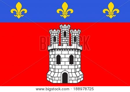 Flag of Castellane is a commune in the Alpes-de-Haute-Provence department in southeastern France