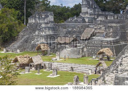 Tikal, Mayan City In Guatemala