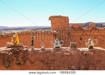 Items For Sale At Ait Benhaddou, Morocco