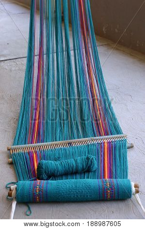 Weaving - Handmade textile - Work in Oaxaca Mexico