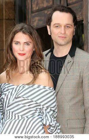 LOS ANGELES - MAY 30:  Keri Russell, Matthew Rhys at the Keri Russell Honored With a Star Ceremony on the Hollywood Walk of Fame on May 30, 2017 in Los Angeles, CA
