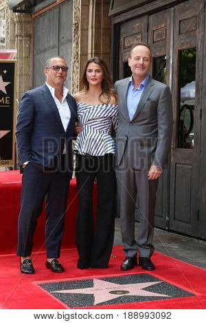 LOS ANGELES - MAY 30:  Guests, Keri Russell at the Keri Russell Honored With a Star Ceremony on the Hollywood Walk of Fame on May 30, 2017 in Los Angeles, CA