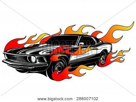Vintage Car, Hot Rod Garage, Hotrods Car, Old School Car,