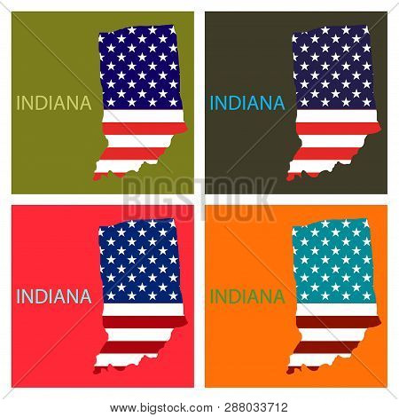 Indiana State America Vector & Photo (Free Trial) | Bigstock on state kentucky on us map, indiana indian reservations map, 50 united states map, indiana on world map, indiana county map, indiana on us map, indiana region of the united states, indiana map with rivers, indiana cities map,