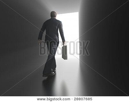 Business entering